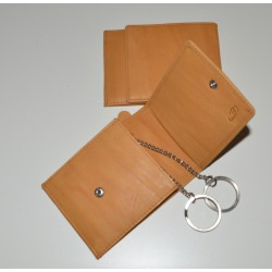 388 Kožená klíčenka/peněženka