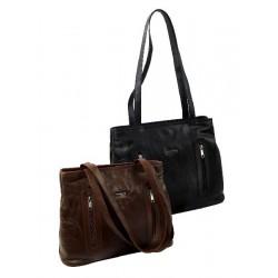 962 Kožená kabelka (Patchwork kůže)