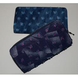 30080 Zipová dámská peněženka Jeans