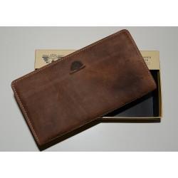 1678-25 Dámská luxusní zipová kožená peněženka