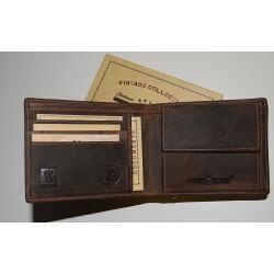 1705A-25 Pánská jednoduchá (úzká) peněženka Greenburry