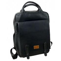 1276-01 koženkový sportovní batoh