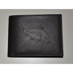 2507/2 Pánská kožená peněženka s kaprem