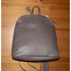 157516/Taupe Kožený batoh