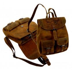 1731 Kožený batoh UNISEX BULL & SNAKE