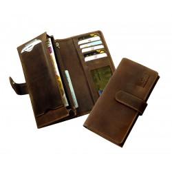 1040-25 Dlouhá peněnženka s kapsou na Smartphone