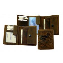 1732-25 Pánská kožená peněženka Bull a Snake