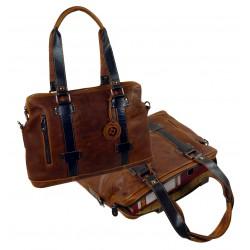 1656 Shopper kožená taška na notebook