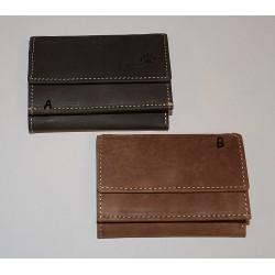 12002 Skládací kožená peněženka Hunter