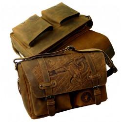1728-25 Brašna kožená LandLeder Bull and Snake