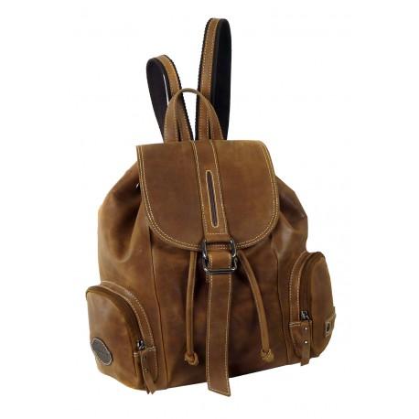 1419 Kožený batoh LandLeder