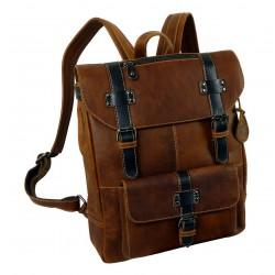 1654-25 Kožený batoh LandLeder SCOTH