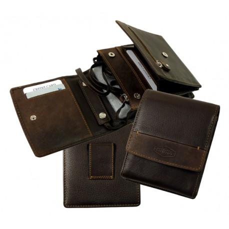 975 Pouzdro, peněženka na krk nebo pásek LandLeder