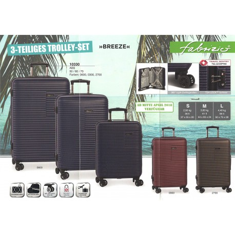 10330 Cestovní kufry skořepinové