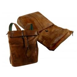 1537-24 Kožený batoh LandLeder