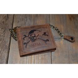 Pánská kožená peněženka 1796 Skull