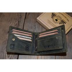 1702 (334) Pánská peněženka s odepínací částí na doklady
