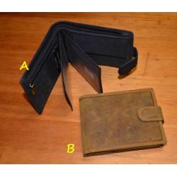 5700 Pánská kožená peněženka s RFID a zápinkou
