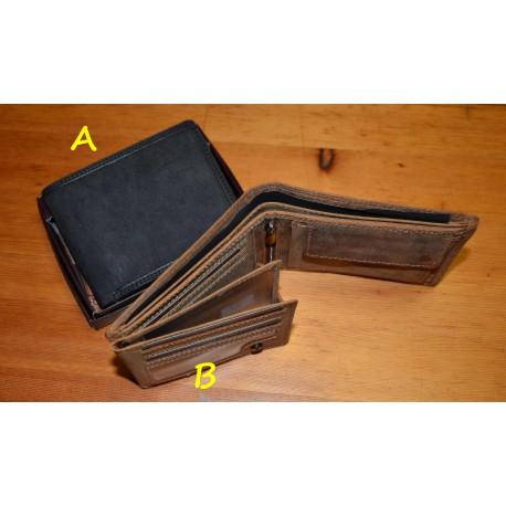 305BHT Pánská celokožená peněženka s RFID
