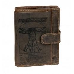 243-25 Kožená peněženka LandLeder se zápinkou