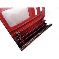 1680155 Dámská kožená rámečková peněženka
