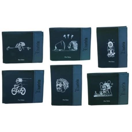 "Koženková peněženka ""Einstein"" 061"