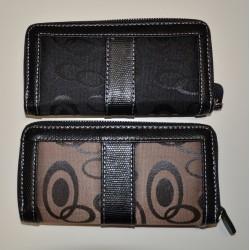 1805 dámská zipová peněženka, textilní
