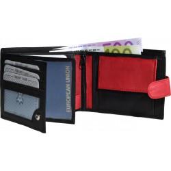 Kožená peněženka se zápinkou 485