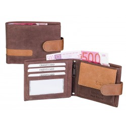 361 pánská kožená peněženka se zápinkou